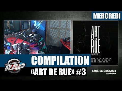 Youtube: Planète Rap – Compilation«Art de Rue» avec Key Largo, Dabs, Lamatrix et Uzi #Mercredi