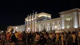Позор! Лазерное шоу в Самаре на день России