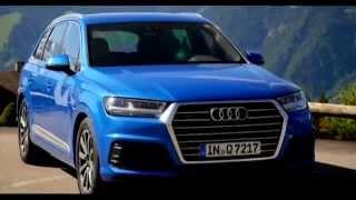 Тест драйв Audi Q7 2016 модельного года(Компания Ауди накануне начала продаж провела в австрийских Альпах для журналистов и экспертов ознакомител..., 2015-06-10T07:36:08.000Z)