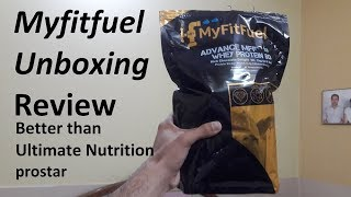 MyFitFuel Advance MFF Whey Protein 80, Whey Concentrate 80% With Digestive Enzymes and Multi Vitamin