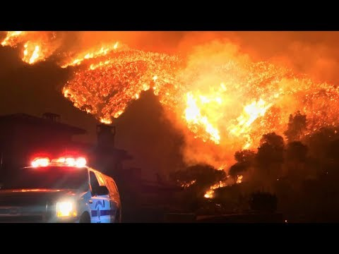 California Wild Fire Becomes Largest Ever Recorded