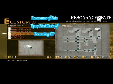 Resonance of Fate Ep 17 First Taste of Becoming OP