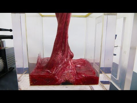 What happens to GLITTER SLIME in a VACUUM CHAMBER?