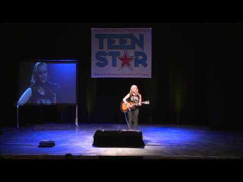 MAYBE  Original  Performed by Georgia Allen at TeenStar Singing Competition