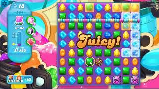 Candy Crush Soda Saga Level  964 ~ no boosters