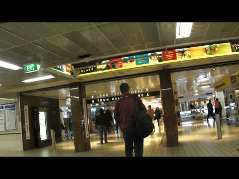 Town Hall Train Station - Sydney