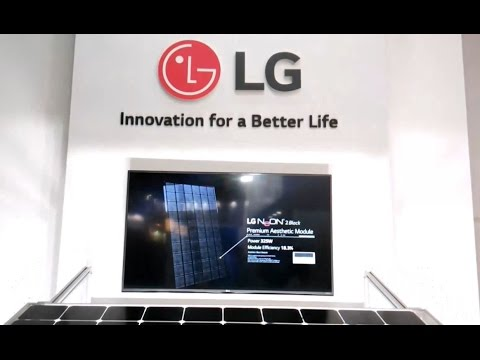 LG's Incredible Solar Technology Exhibited at Intersolar India 2016