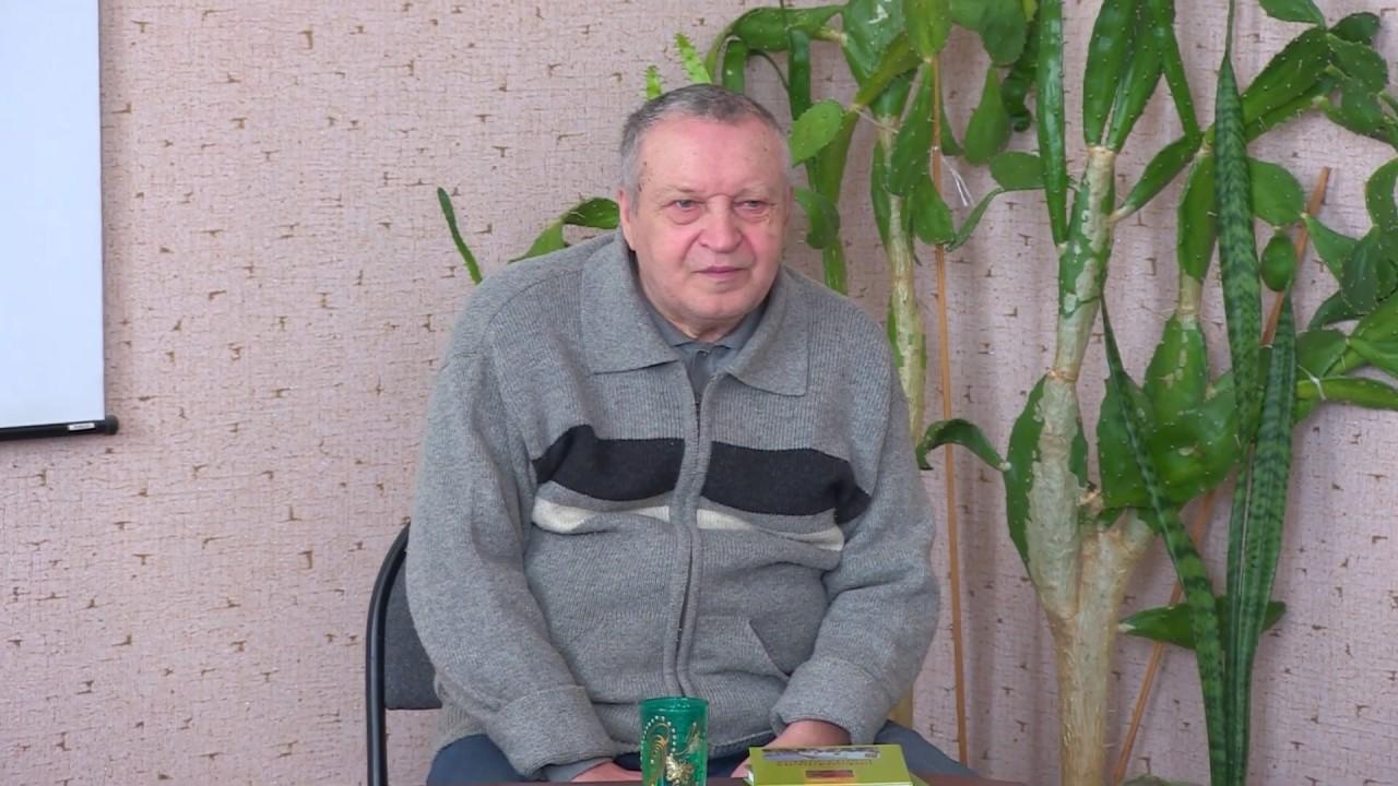 Встреча с писателем Павлом Краснощековым
