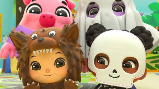 Halloween Dress Up Song | Lellobee | Baby Songs | Nursery Rhymes For Kids