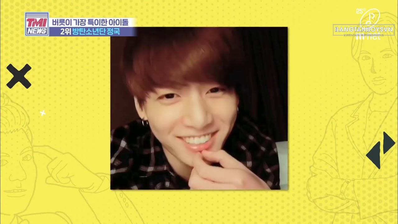 [VIETSUB] Mnet TMI NEWS (BTS CUT) – Tập 31 – Những thói quen kỳ lạ của Jungkook