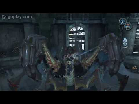 Darksiders Iron Canopy Boss: Silitha's Heart Techniques English/Greek