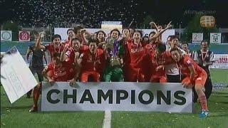 20150710 アルビレックス新潟シンガポール☆ リーグカップ優勝!! [TV]