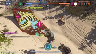 Onrush - Big Dune Beach Overdrive Gameplay