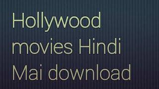 300mb Hollywood Hindi movies download