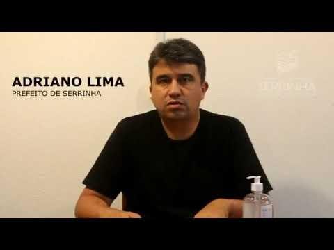 Vídeo: Prefeito Adriano Lima fala sobre o novo decreto que autoriza o funcionamento do comércio de Serrinha