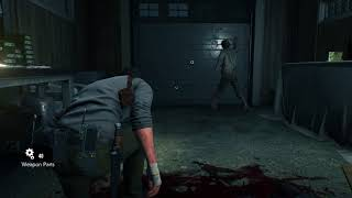 The Evil Within 2 - Chapter 3: Fix the Sniper Rifle Parts Location: Lament Combat Gameplay PS4 Pro