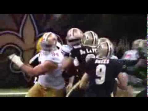 49er vs Saints controversial call - the Ahmad Brooks/Drew Brees sack - penalty called against 49ers
