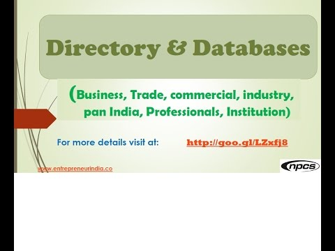 India Business Directory, Companies Directory in India, Trade, commercial, industrial, Database