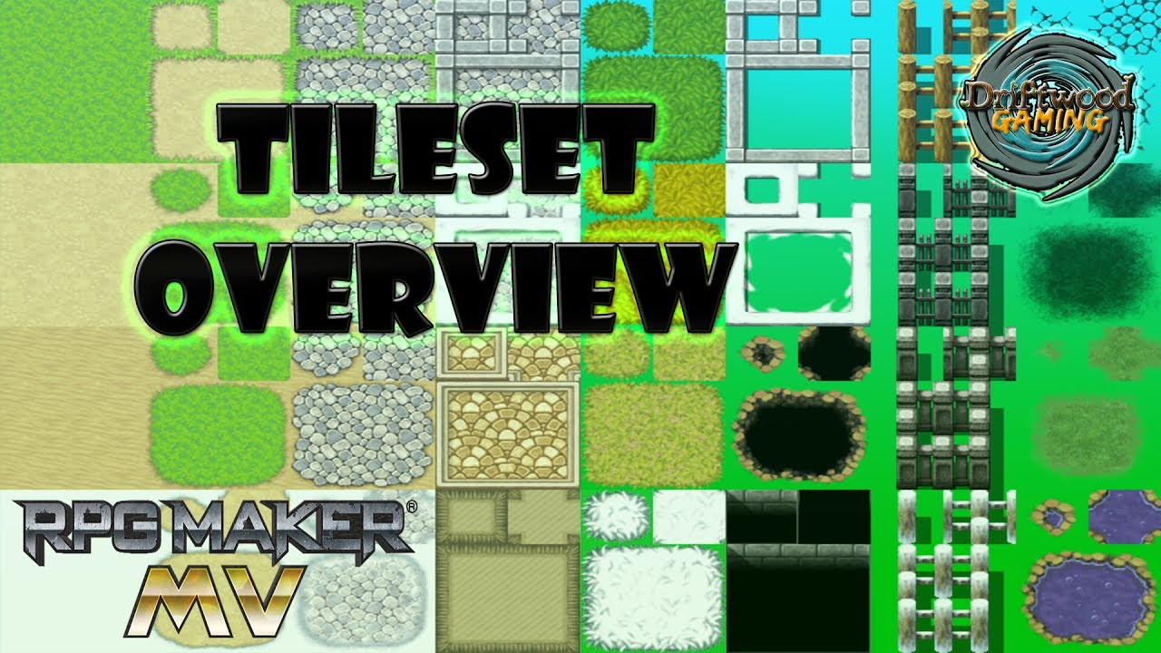 Rpg Maker Vx Custom Tileset: RPG Maker MV Tutorial