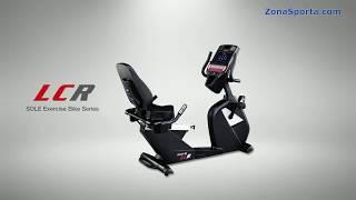 Горизонтальный велотренажер Sole Fitness LCR. Обзор.