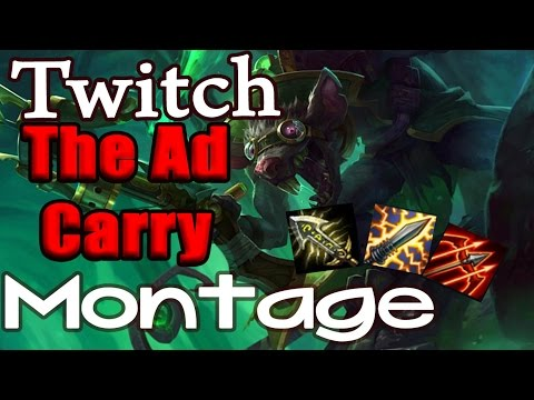 Twitch Montage Season 7 - The Best AD Carry (League of Legends)