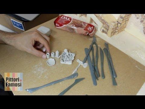 Modellare das per creare oggetti del presepe parte8 for Fai da te oggetti