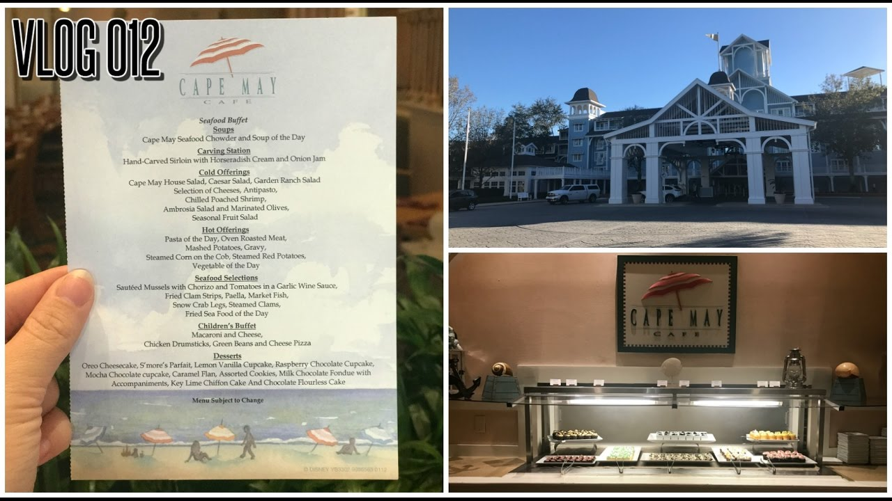Dining Review Cape May Cafe At Disney S Beach Club Resort