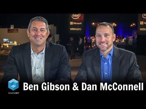 Ben Gibson, Nutanix and Dan McConnell, Dell EMC | Dell Technologies World 2018