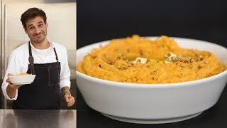 The Best Technique for Mashed Sweet Potatoes - Kitchen Conundrums with Thomas Joseph
