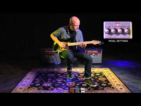 BOSS TE-2 Tera Echo Playing Examples with Jude Gold