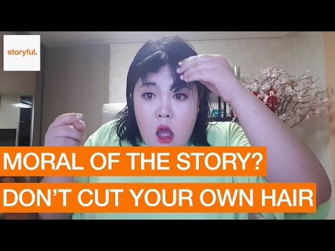 Korean Web Star Screams After Botched Haircut (Storyful, Funny)