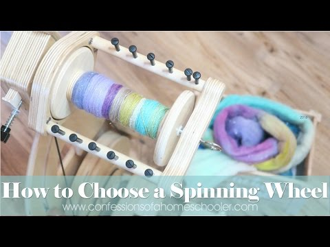How to Choose a Spinning Wheel (SpinOlution King Bee)