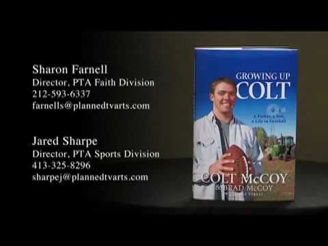 Growing Up Colt A Father Son Life In Football By McCoy Brad Mike Yorkey