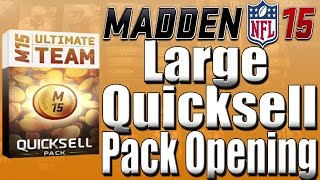 Madden 15 Ultimate Team, Large Quick Sell Pack Opening, Can We Get The Milli - Mut 15