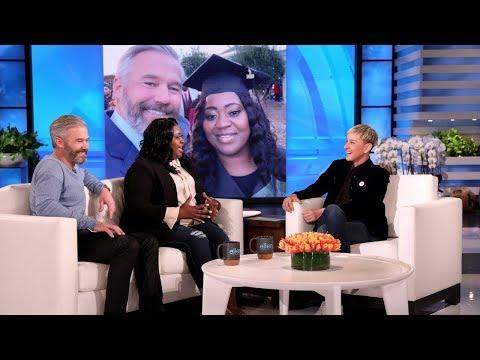Ellen Meets Uber Driver and Her Generous Passenger