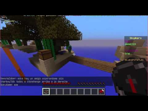 046 usa el hack fly - Skywars en Akarcraft