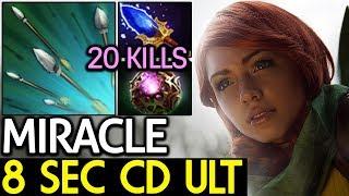 Miracle- [Windranger] Insane Game | 8 Sec CD ULT 7.15 Dota 2