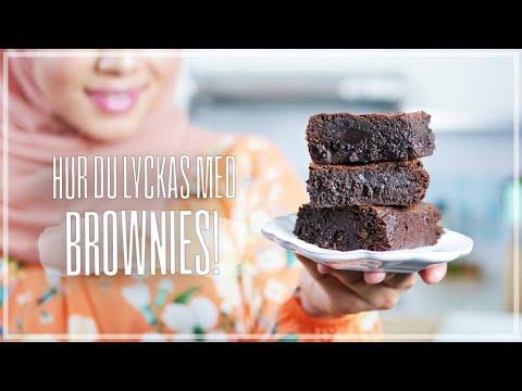 Hur Man Bakar Enkla Fudge Brownies   Lär Dig Baka Med Camilla Hamid
