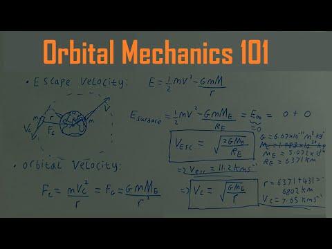 Orbital Mechanics 101