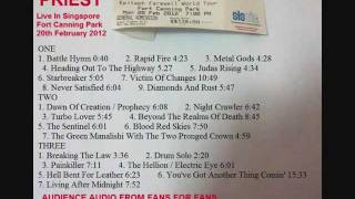 14 The Sentinel- Judas Priest Live Singapore 20Feb2012 ( Audience Bootleg )