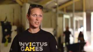 Zara Phillips discusses her involvement with the Jaguar Land Rover Exhibition Wheelchair Rugby.