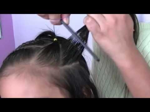 Peinados para ni a 2 youtube - Peinados de ninas ...