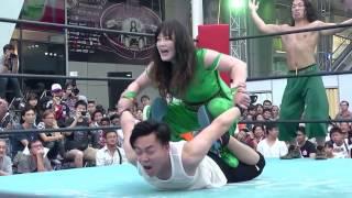 3rd Match of Japan Expo Thailand 2016 Day2  Emi Sakura & Takanashi Masahiro vs Riho & Wayu thumbnail