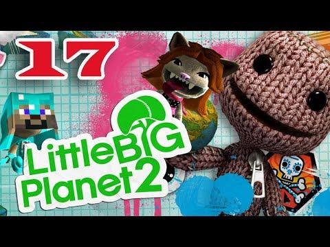 ч.17 Прохождение Little Big Planet 2 - Охота на дичь и 2 мини игры