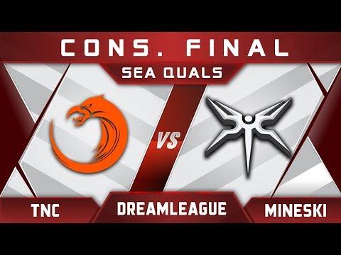 TNC vs Mineski Cons. Final DreamLeague Major 2017 SEA Highlights Dota 2