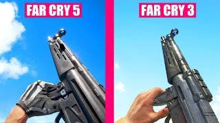 FAR CRY 5 Gun Sounds vs FAR CRY 3