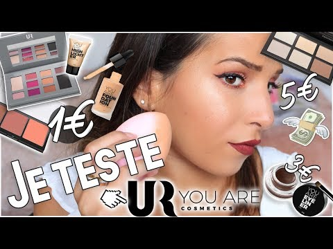 ♡ Test : You Are Cosmetics // Makeup pas cher (1€-9€) 💰