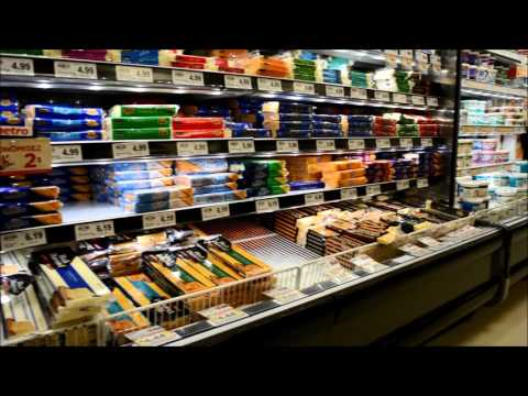 Walk through inside a supermarket in Ottawa, Canada