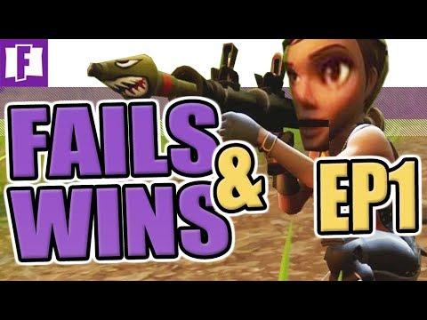 FAIL & WIN COMPILATION EP 1  ► FORTNITE BATTLE ROYALE • GameaholixTV •  FNBR