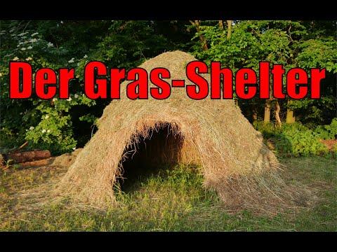 Der Gras-Shelter